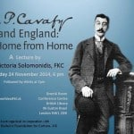 Cavafy and England: A Home from Home