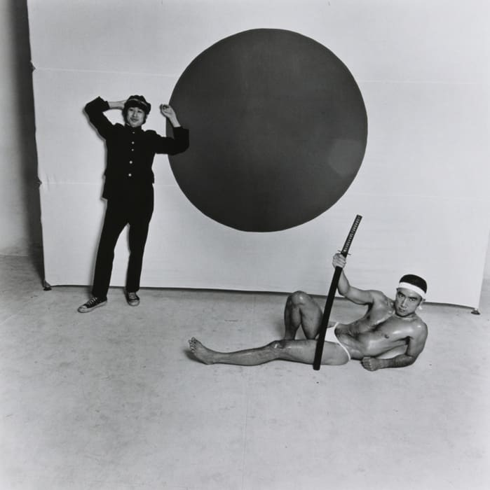 Kishin Shinoyama, Mishima Yukio, 1968, Tokyo, 1968