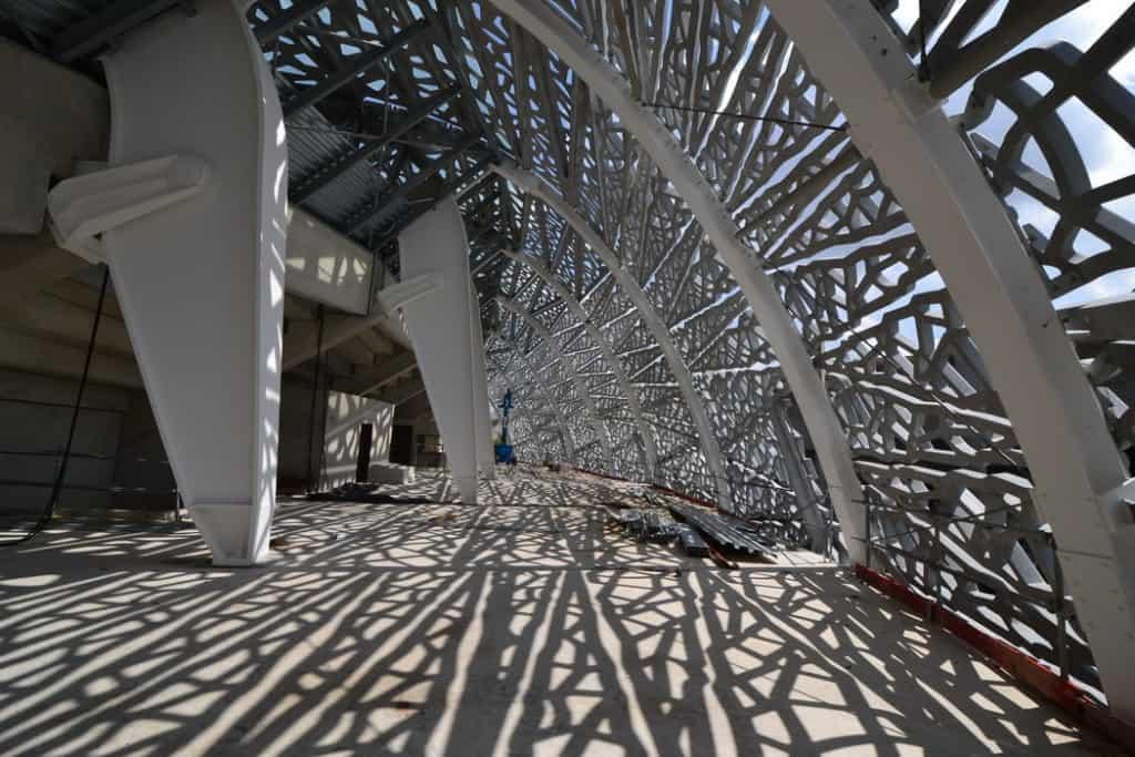 Stade Jean Bouin, Paris / Rudy Ricciotti, Bandol