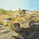 Paul Nash painted in the trenches – and I did the same in Afghanistan